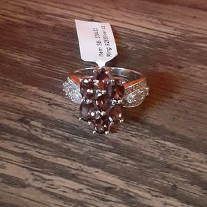 Jewelry - FLOWER shaped sterling silver ring